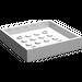 LEGO White Container Box 6 x 6