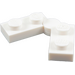 LEGO White Hinge Plate 1 x 4 (19954 / 73983)