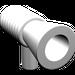LEGO White Loudhailer (4349)
