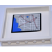 LEGO White Panel 1 x 6 x 5 with City Map From set 60044 Sticker