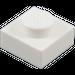 LEGO White Plate 1 x 1 (3024)