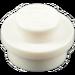 LEGO White Plate 1 x 1 Round (6141)