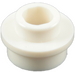 LEGO White Plate 1 x 1 Round with Open Stud (28626 / 85861)