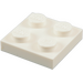 LEGO blanc assiette 2 x 2 (3022 / 94148)