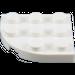 LEGO White Plate 3 x 3 Corner Round (30357)