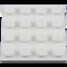 LEGO White Plate 4 x 4 (3031)
