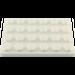 LEGO White Plate 4 x 6 (3032)