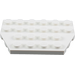 LEGO White Plate 4 x 6 without Corners (32059)