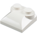 LEGO White Slope 2 x 2 Curved with Curved End (47457)