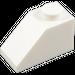 LEGO White Slope 45° 1 x 2 (3040)