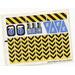 LEGO White Sticker Sheet for Set 6575 (72637)