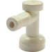 LEGO White Tap 1 x 1 with Hole in End (4599)