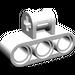 LEGO White Technic Cross Block 3 x 2 (Axle/Triple Pin)