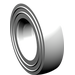 LEGO White Tire Ø 14mm x 4mm Smooth Old Style (3139)