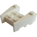 LEGO White Wedge Brick 3 x 4 with Stud Notches (50373)