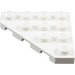 LEGO White Wedge Plate 4 x 4 (45°) (30503)