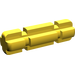 LEGO Yellow Axle 2 with Grooves