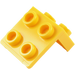 LEGO Yellow Bracket 1 x 2 - 2 x 2 (21712 / 44728 / 92411)