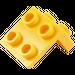LEGO Yellow Bracket 1 x 2 - 2 x 2 (21712 / 44728 / 92411)