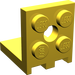LEGO Yellow Bracket 2 x 2 - 2 x 2 Up (3956)