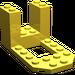 LEGO Yellow Bracket 4 x 7 x 3 (30250)