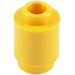 LEGO Yellow Brick 1 x 1 Round with Open Stud (3062)