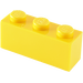 LEGO Yellow Brick 1 x 3 (3622)