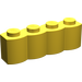 LEGO Yellow Brick 1 x 4 Log (30137)