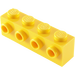 LEGO Yellow Brick 1 x 4 with 4 Studs on 1 Side (30414)