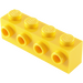 LEGO Yellow Brick 1 x 4 with 4 Studs on One Side (30414)