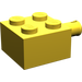 LEGO Yellow Brick 2 x 2 with Pin and No Axle Hole