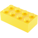 LEGO Yellow Brick 2 x 4 (3001)
