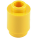 LEGO Yellow Brick Round 1 x 1 with Open Stud with Open Stud (3062)