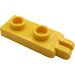 LEGO Yellow Hinge Plate 1 x 2 with 2 Fingers Hollow Studs (4276)