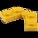 LEGO Yellow Hinge Plate 1 x 4 (19954 / 73983)