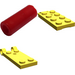LEGO Yellow Hinged Plate 2 x 4