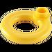 LEGO Yellow Lifebuoy with Hollow Stud (30340)