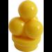 LEGO Yellow Minifig Ice Cream Scoops