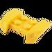 LEGO Yellow Mudguard with Overhanging Headlights 2 x 4 (44674)
