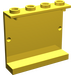 LEGO Yellow Panel 1 x 4 x 3 without Side Supports, Hollow Studs (4215)