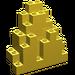 LEGO Yellow Panel 3 x 8 x 7 Rock Triangular (6083)