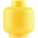 LEGO Yellow Plain Head (Safety Stud) (3626 / 88475)