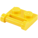 LEGO Yellow Plate 1 x 2 with Handle (Closed Ends) (48336)