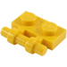 LEGO Yellow Plate 1 x 2 with Handle (Open Ends) (2540)