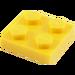 LEGO Jaune assiette 2 x 2 (3022 / 94148)