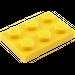 LEGO Yellow Plate 2 x 3 (3021)