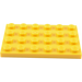 LEGO Yellow Plate 4 x 6 (3032)