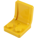 LEGO Yellow Seat 2 x 2 with Sprue Mark in Seat (4079)
