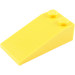 LEGO Yellow Slope 18° 4 x 2 (30363)
