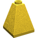 LEGO Yellow Slope 2 x 2 x 2 (75°) Quadruple